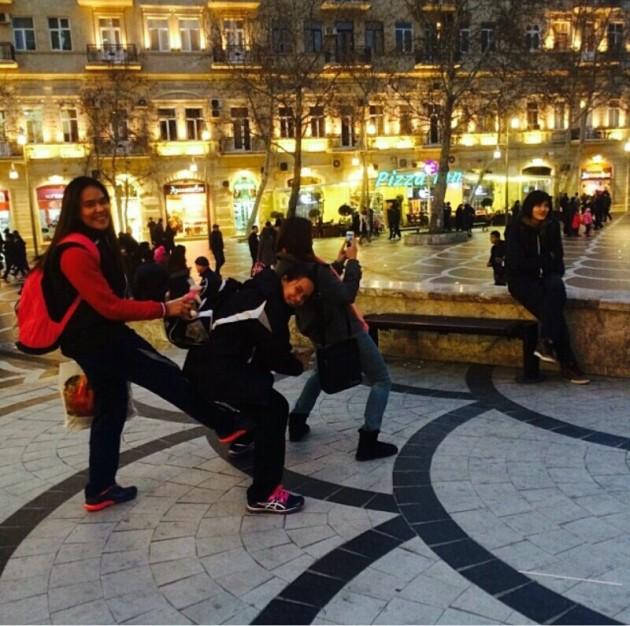 Thai girls in Baku