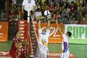 Volei Futuro beats Cimed and gets on top