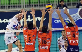 ACH Volley fights bravely but loses to Pool leader TOURS VB