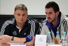 Alexander Volkov and Vladimir Alekno