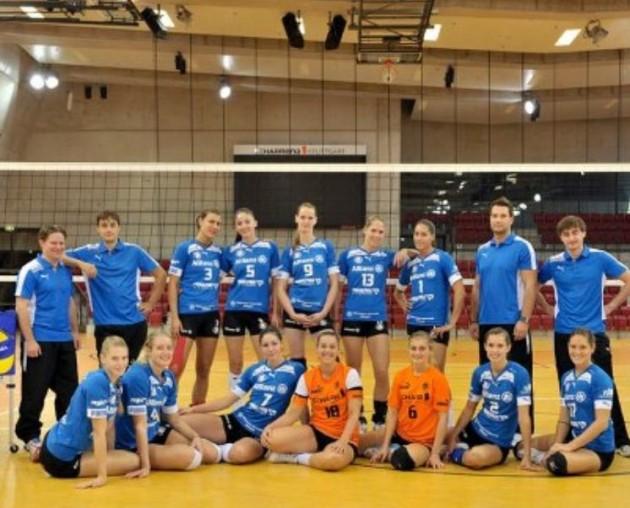 Alianz-Volley-Stuttgart-team