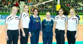 All-female crew officiates CEV Cup match in Schwechat