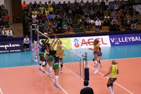 Atom Trefl SOPOT does well at the end of key set 2 and scores away win in Czech Republic