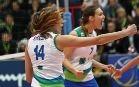 Atom Trefl battles with Volero for second place in Pool C