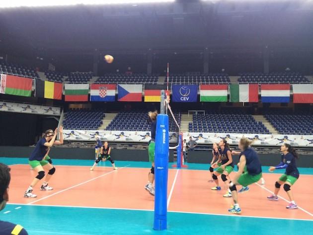 First training in Antwerp