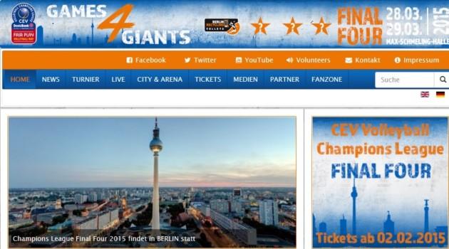 BR Volleys' F4 website