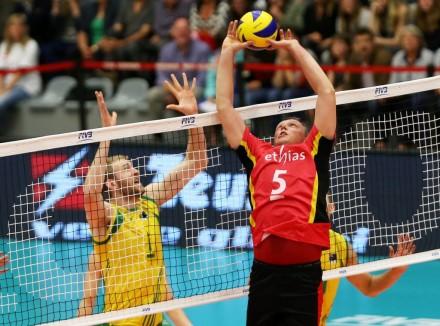 Belgium's Frank Depestele sets