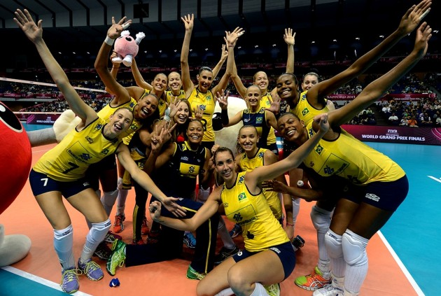 Brazil won the World Grand Prix in 2013