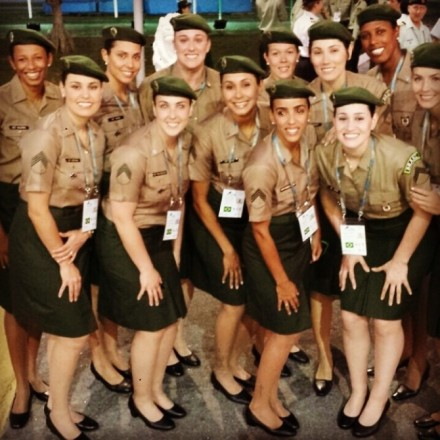 Brazilian Military team