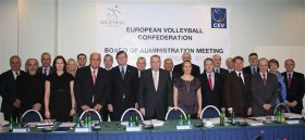 CEV Board defines ambitious goals for Olympic year and agrees upon long-term strategy for development of Volleyball and Beach Volleyball