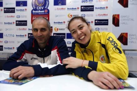 Rabita coach and captain