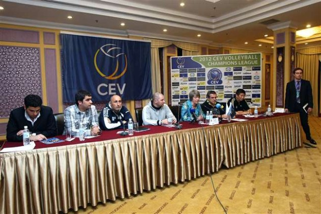 Coaches are confident a great Volleyball show will unfold in Baku