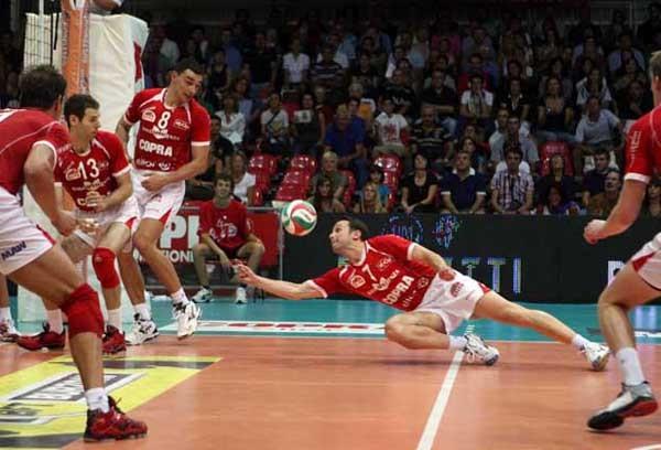 Copra Elior Piacenza – M. Roma Volley