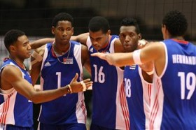 Cuba gained from the changes to the world rankings which have been altered to reflect the most recent competitions