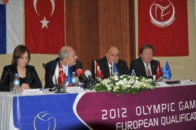 DOL for women's Olympic qualifier is completed in Ankara