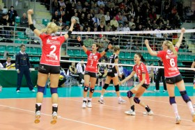 DRESDNER SC claims first win ever in Europe's top competition