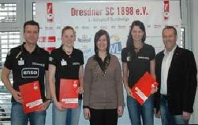 DRESDNER SC extends contract of head coach and two key players