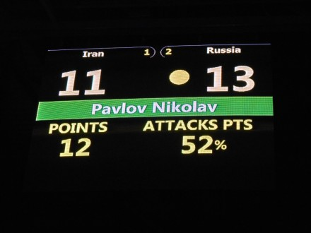 Pavlov against iran