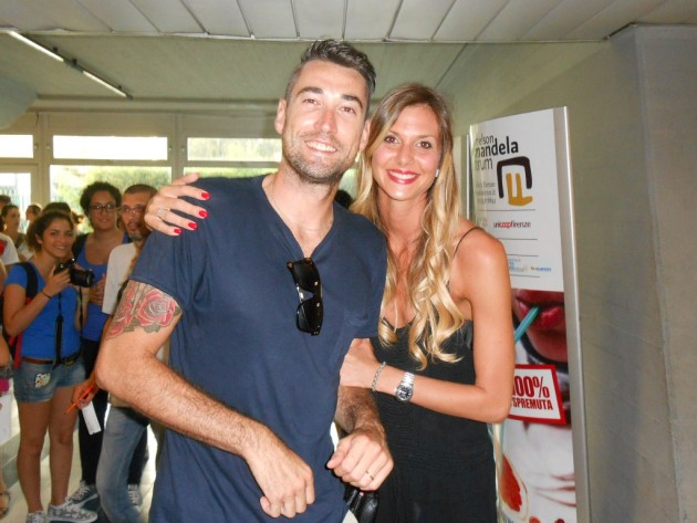 Cristian Savani and his wife Mihaela