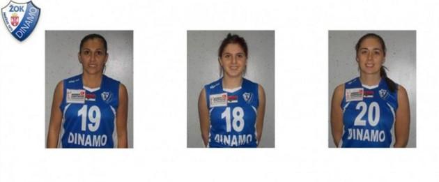 Ivana, Sladjana and Sanja