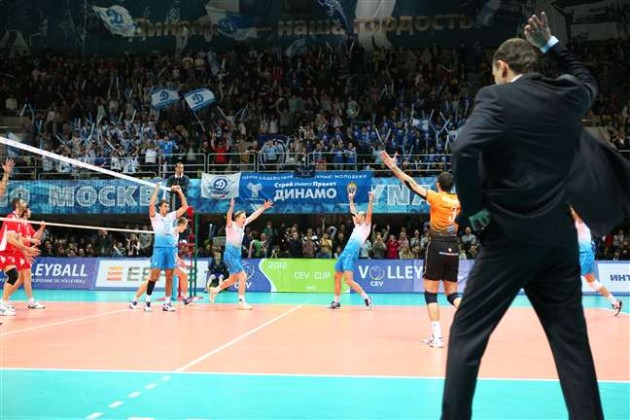 Dinamo MOSCOW to challenge Resovia in CEV Cup final