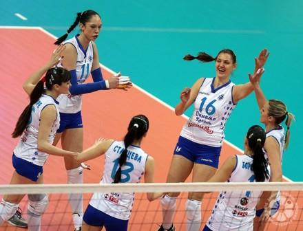 Dinamo Kazan celebrated