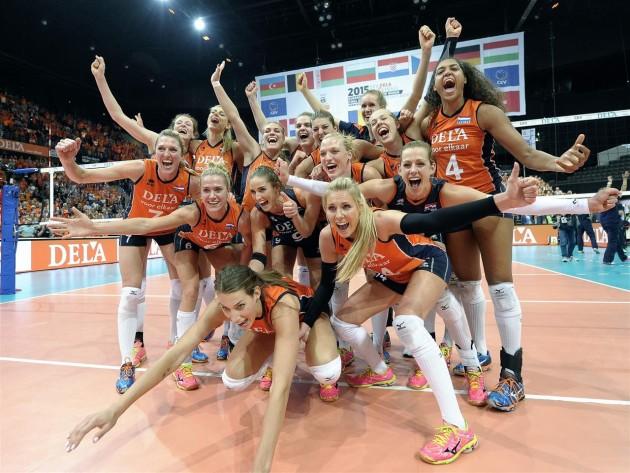 Netherlands in finals