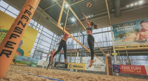 EEVZA Beach volleyball Tour final