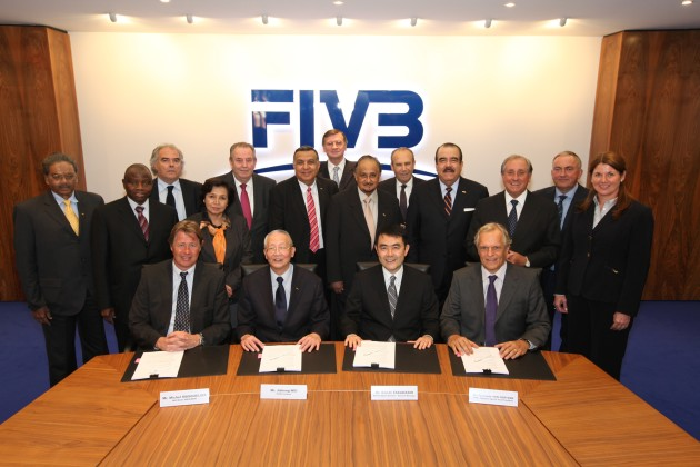 FIVB teams up with IMG, Dentsu and XYZ to market commercial rights