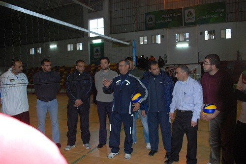 FIVB's commitment to coaching in Palestine
