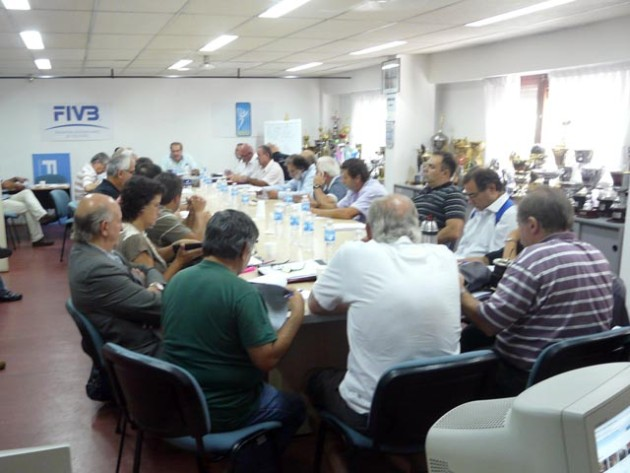 Feva Board of Administration meet for the first time during this 2012 year