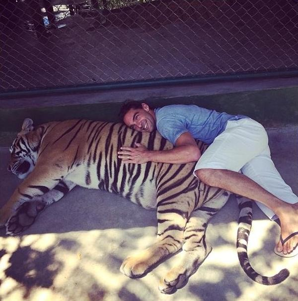 Giba and tiger