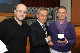 Gino Giannetti receives special award