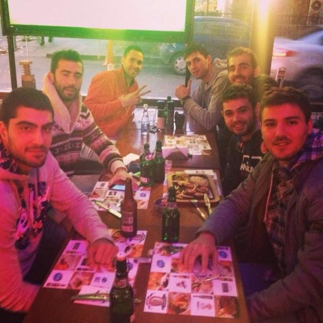 Halkbank players