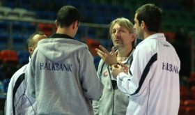 Halkbank is preparing for the match with Galatasaray