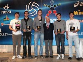 Hellenic League celebrates Volleyball personalities of the year