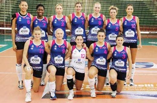 Icos-Crema-Volley-team