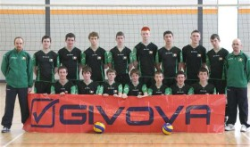 Volleyball boys in green to fly the flag in Europe