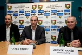Italian Carlo Parisi at the helm of Czech women's national team