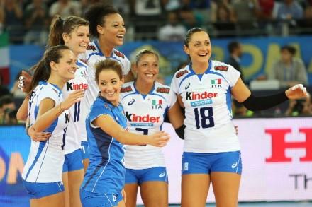 Italy celebrated