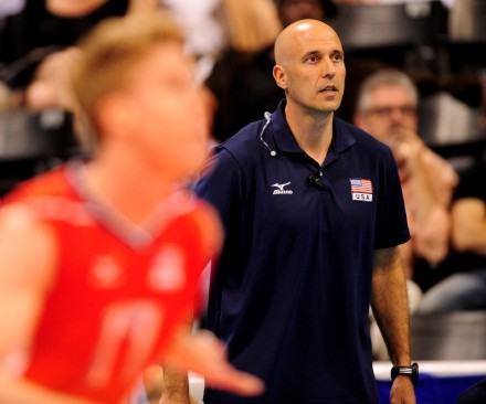 John Speraw during the FIVB Men's Volleyball World League