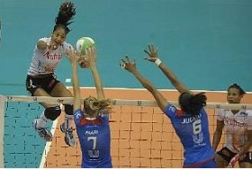 Joycinha tried to point in the attack in the previous match
