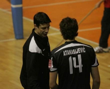 Kobiljski and Atanasijevic from period in Partizan