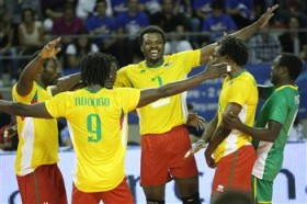 London 2012 berth at stake in Cameroon