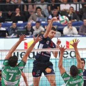 Marko Podrascanin in attack