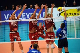 Noliko welcomes triple champions from Italy for opening of Playoffs 12