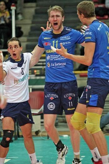 Preparing clash vs Modena and Trento