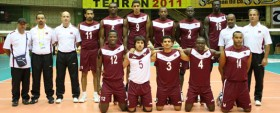 Qatar-volleyball-team