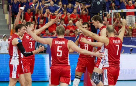 Russia volleyball Men