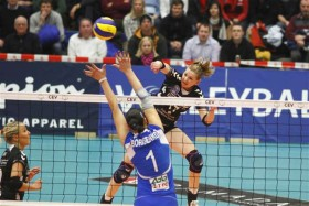Russian giant too strong for German rookie